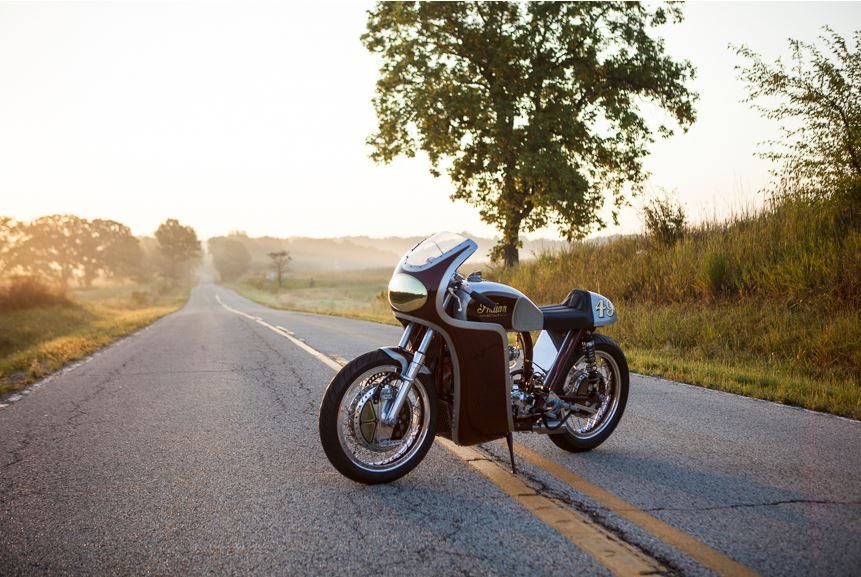 Analog Motorcycles Indian Scout - Front Left