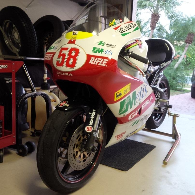 Aprilia RS250 Cup - Front