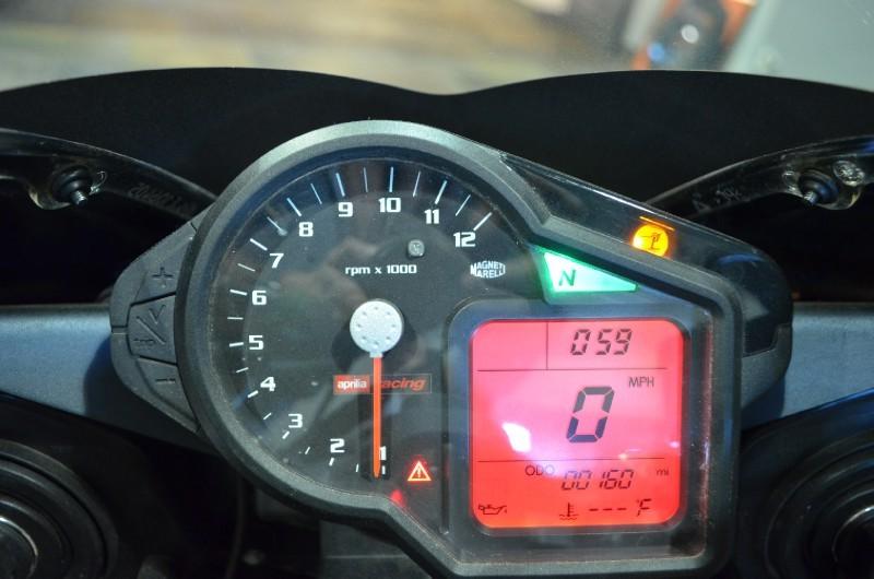Aprilia RSV 1000 R Factory - Gauges