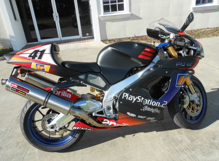 Aprilia RSV1000R Haga Replica - Right Side
