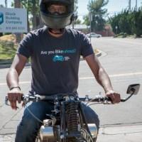 """Are you Bike-urious?"" Men's T-Shirt"