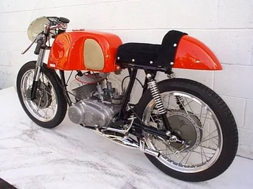 Asama Racer - 1960 Yamaha YDS1R - Left Rear