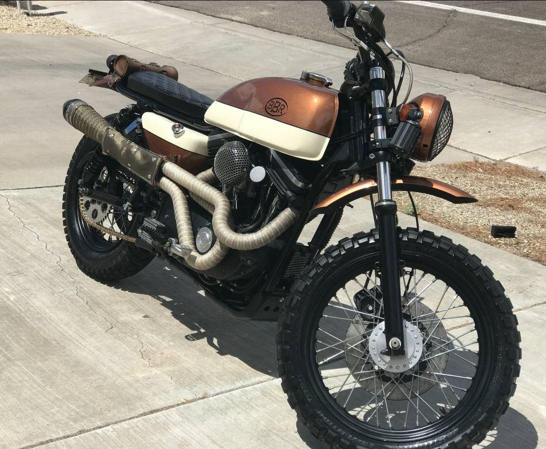 Bare Bones Rides Build - 1989 Harley-Davidson Sportster 1200