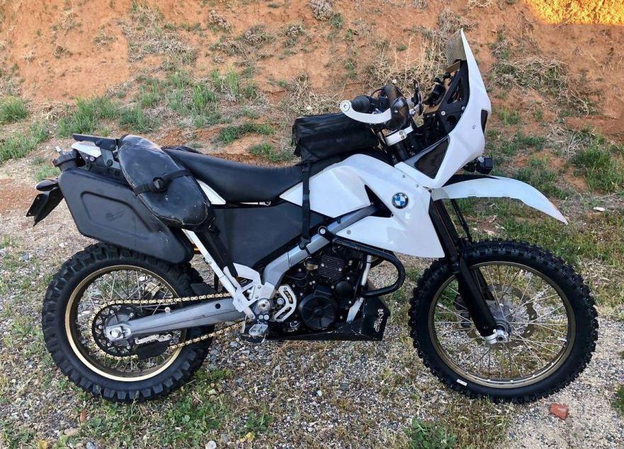 Well Farkled 2007 Bmw G650 Xchallenge Bike Urious