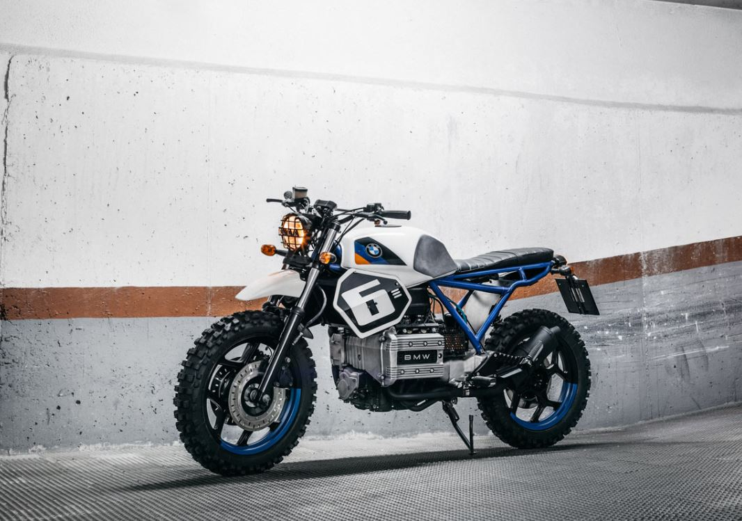The Foundry MC Build - 1991 BMW K75 Street Scrambler