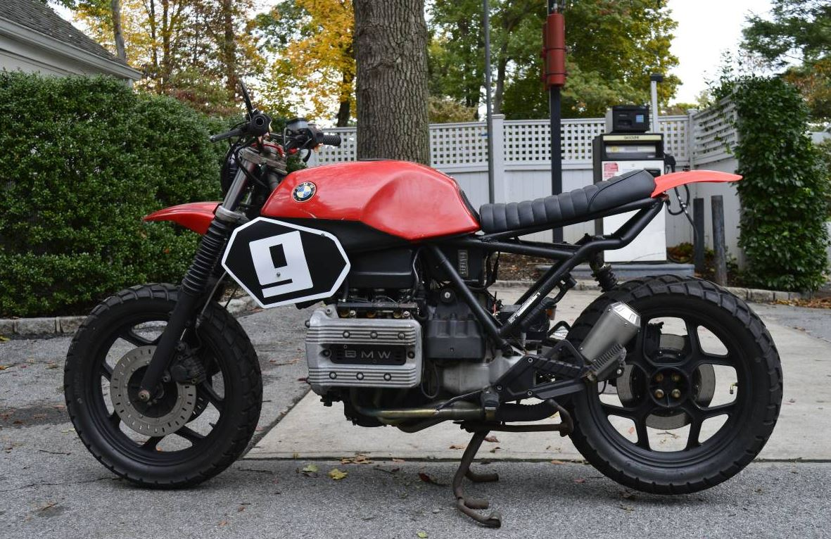 Foundry Inspired 1987 Bmw K75 Tracker Bike Urious