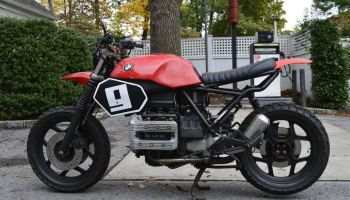 The Foundry MC Build – 1991 BMW K75 Street Scrambler – Bike-urious