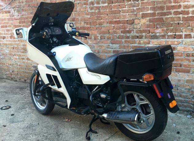 ex police 1995 bmw k75rt bike urious. Black Bedroom Furniture Sets. Home Design Ideas