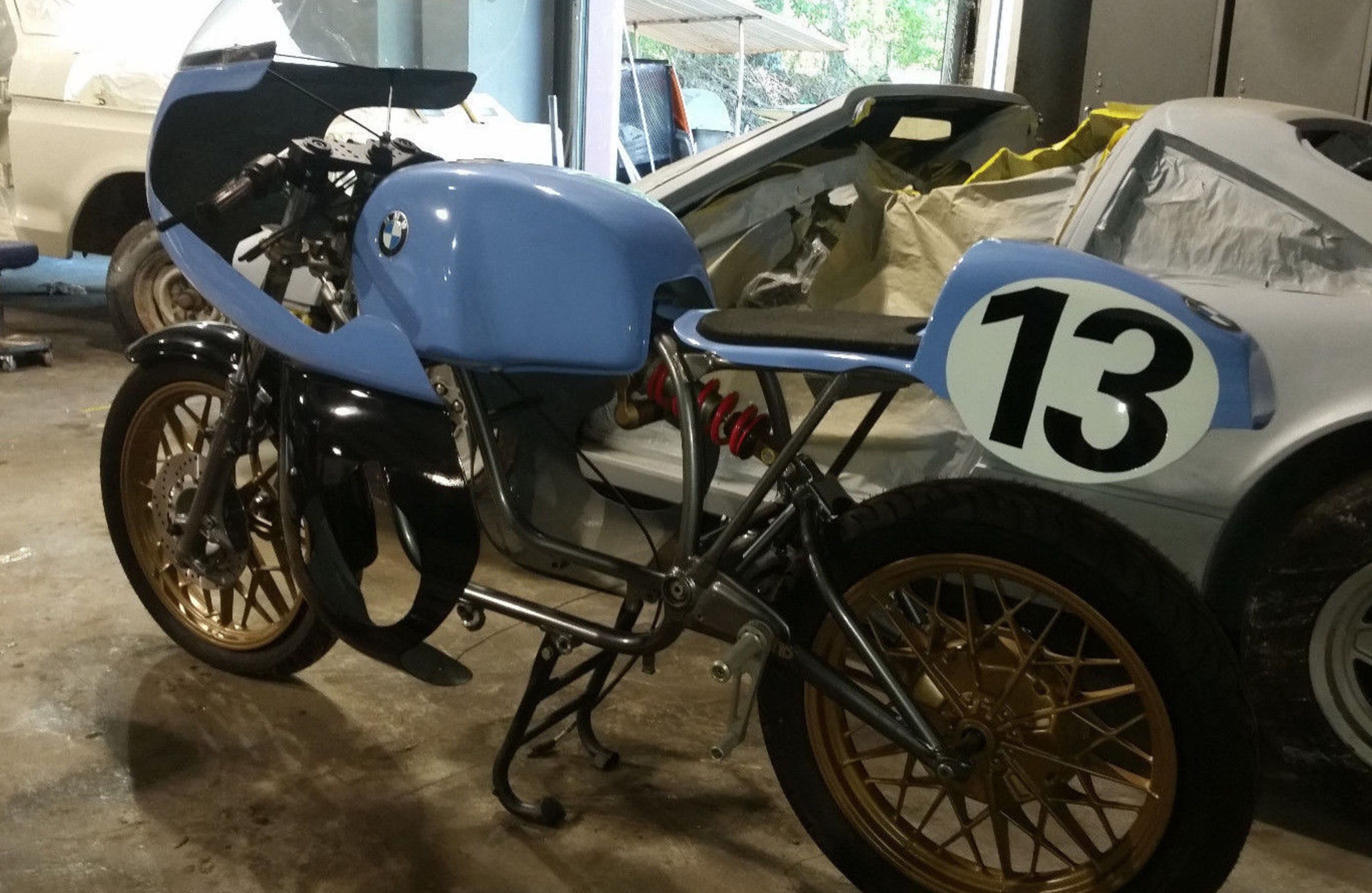 Racer Project – 1976 BMW R100 – Bike-urious