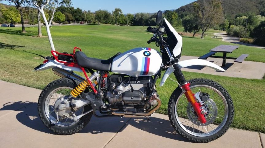 Quot Rally Replica Quot 1989 Bmw R100gs Bike Urious
