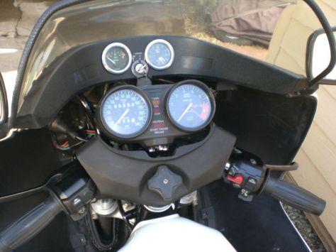 BMW R100RS Motorsport - Cockpit