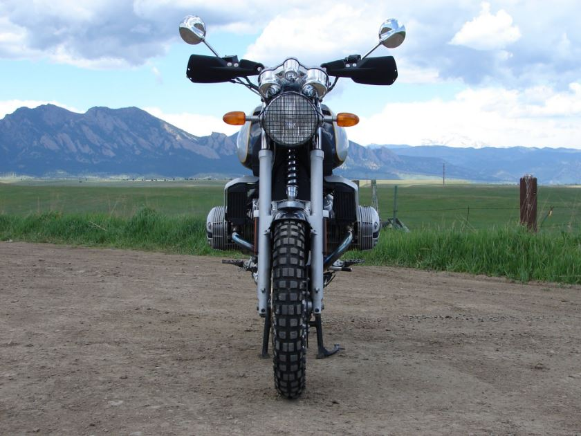 Bmw R1100r Scrambler Front Bike Urious