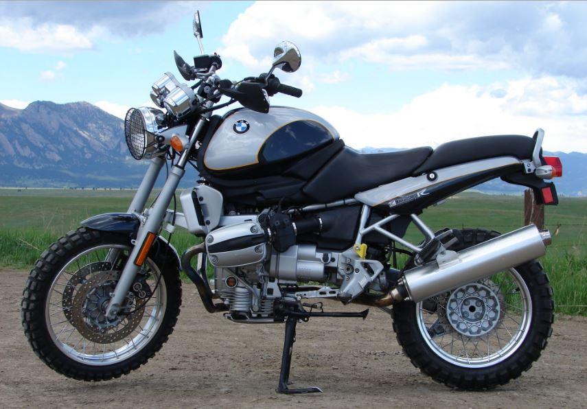 BMW R1100R Scrambler - Left Side