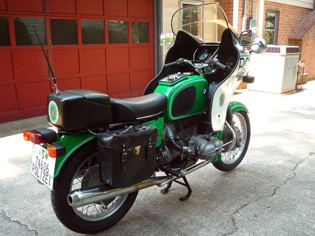 bundesgrenzpolizei 1974 bmw r60 6 polizei bike urious. Black Bedroom Furniture Sets. Home Design Ideas