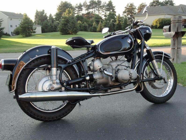 1961 Bmw R69s Bike Urious