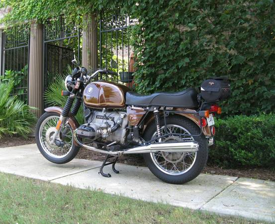 BMW R75 - Left Side