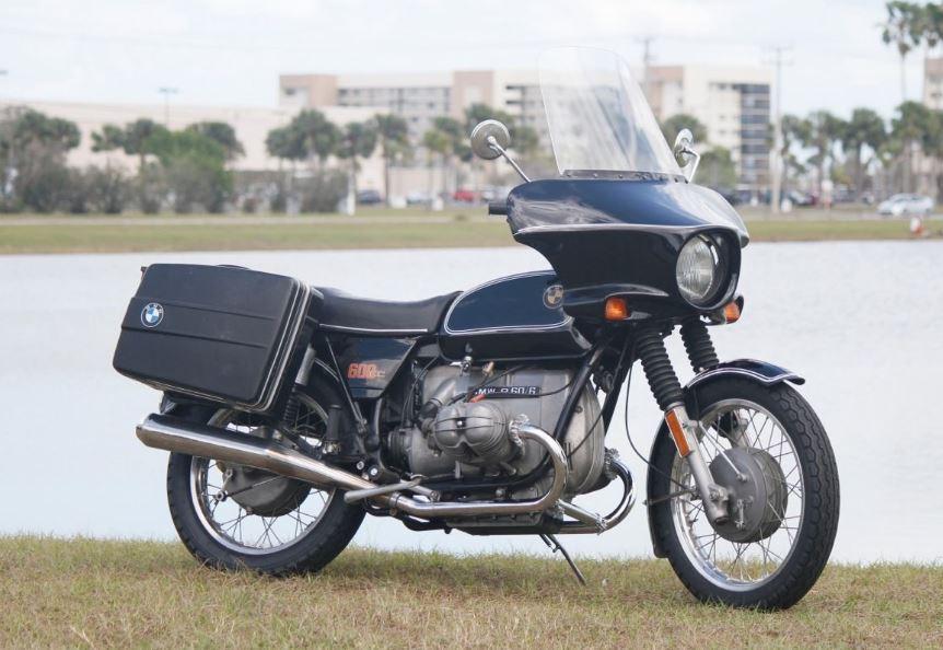 ending soon 1974 bmw r60 6 tourer bike urious. Black Bedroom Furniture Sets. Home Design Ideas