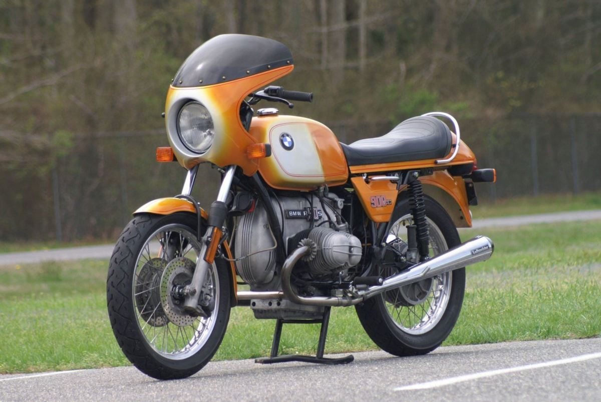 No Reserve - 1975 BMW R90S