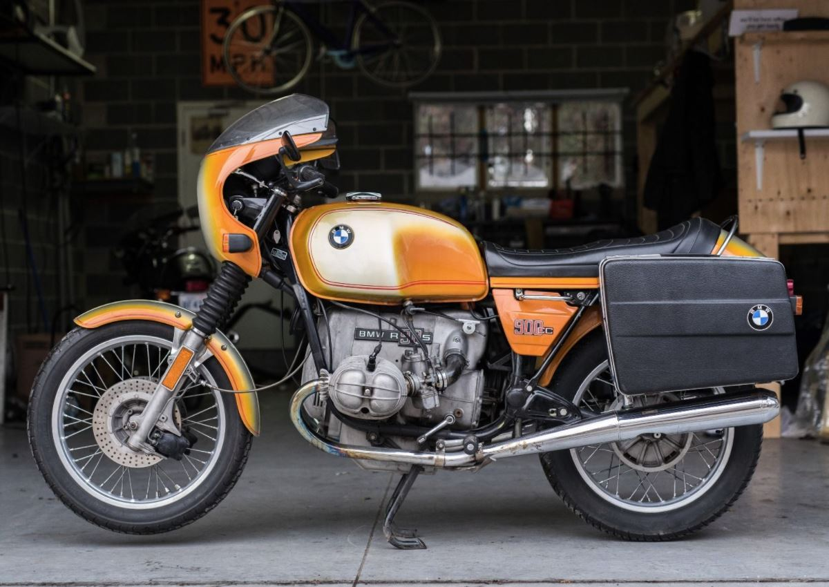 In Canada - 1976 BMW R90S