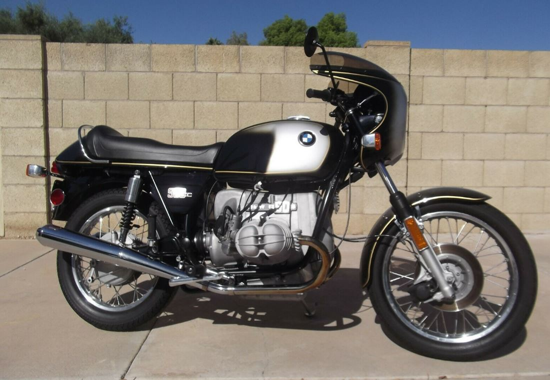 Restored in 2011 – 1974 BMW R90S