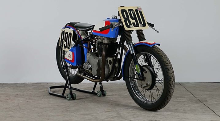 BSA A7 Road Racer - Front Right