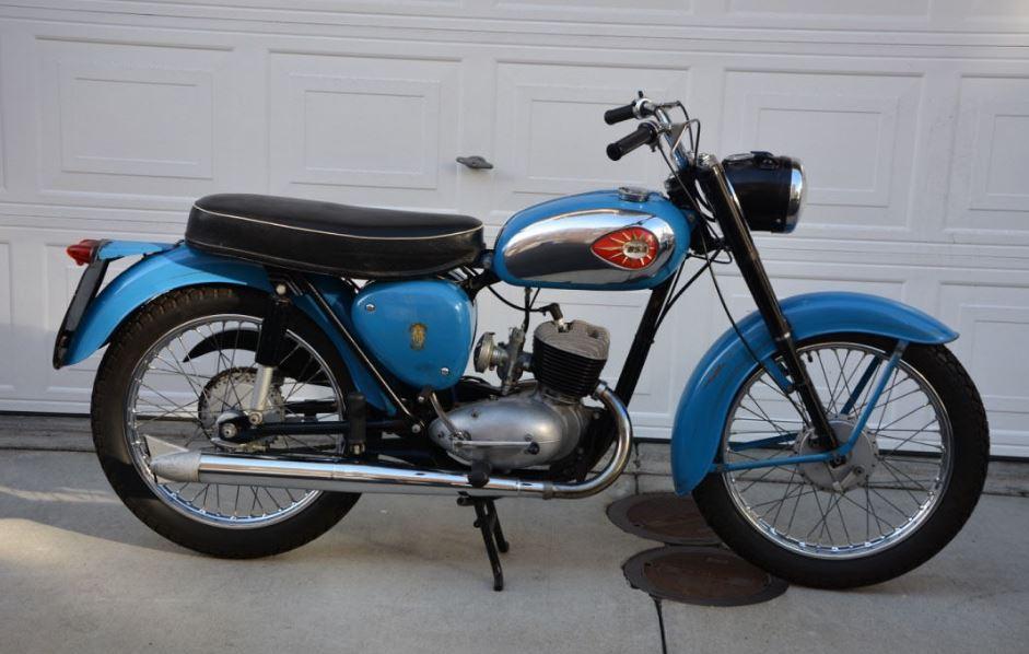 1965 BSA Bantam