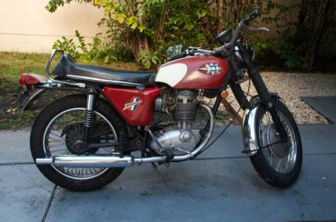 BSA Shooting Star - Right Side