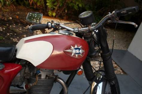 BSA Shooting Star - Tank