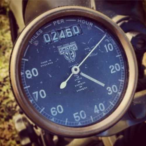 BSA WM20 - Gauges