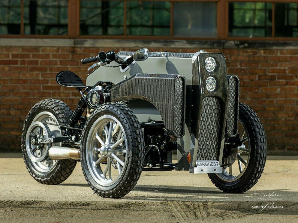 "Ending Soon – ""GARMR .003"" 2009 Harley-Davidson Reverse-Leaning Trike Custom"