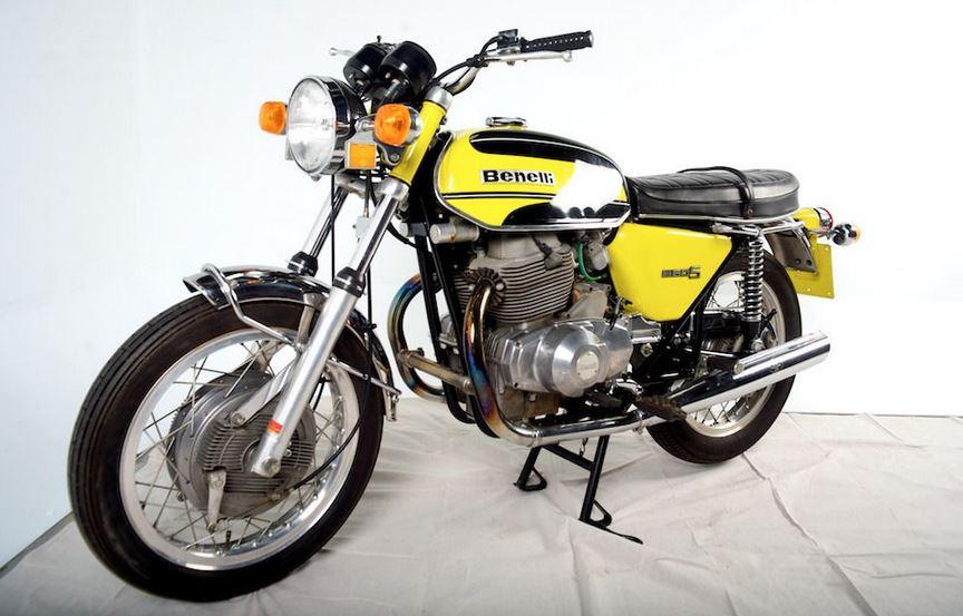 60 Miles 1975 Benelli Tornado 650s Bike Urious