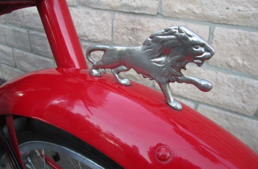 Benelli Leoncino Sport - Lion Emblem