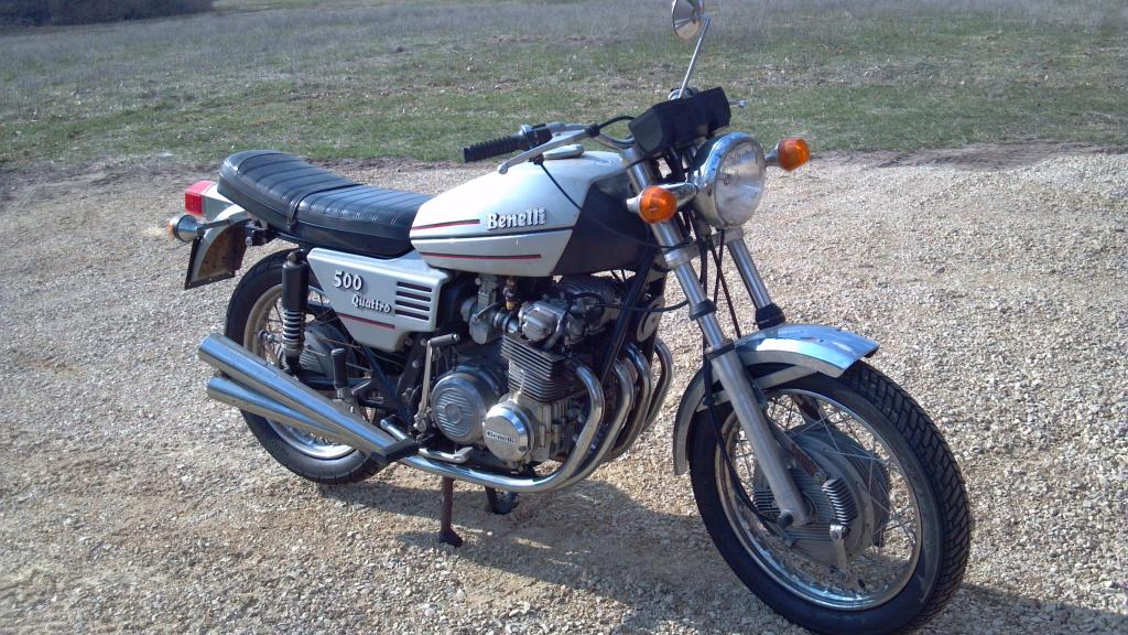 Review of Benelli 500 Quattro 1976: pictures, live photos