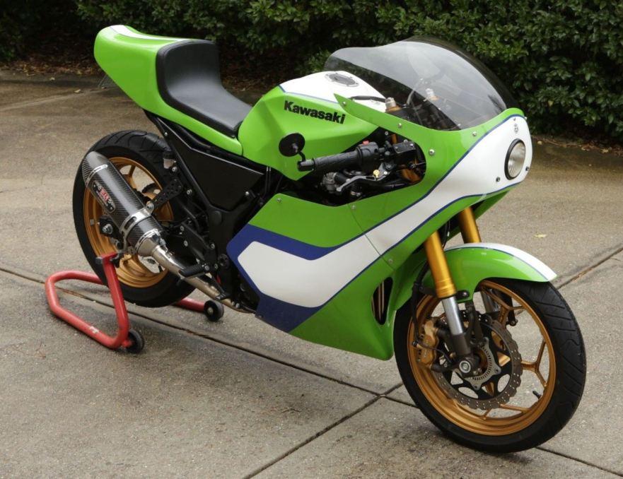 Gary Nixon Tribute 2014 Kawasaki Ninja 300 Custom Bike Urious