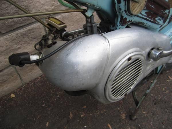 Bianchi Sparviero - Engine