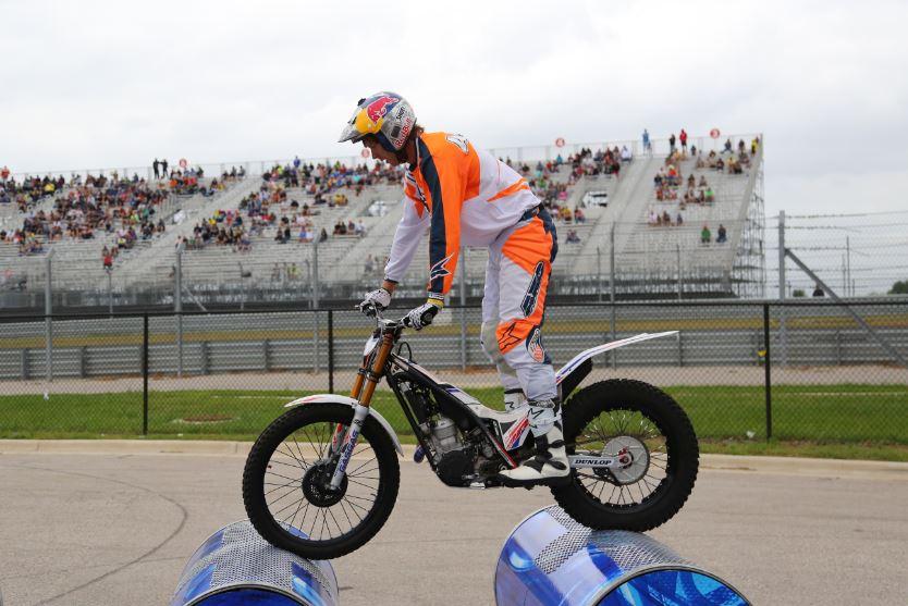 Bike-urious MotoGP Austin - Geoff Aaron Barrel Balance