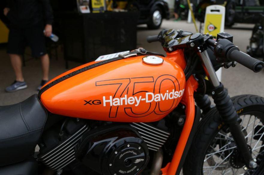 Bike-urious MotoGP Austin - Harley XG750 - Tank
