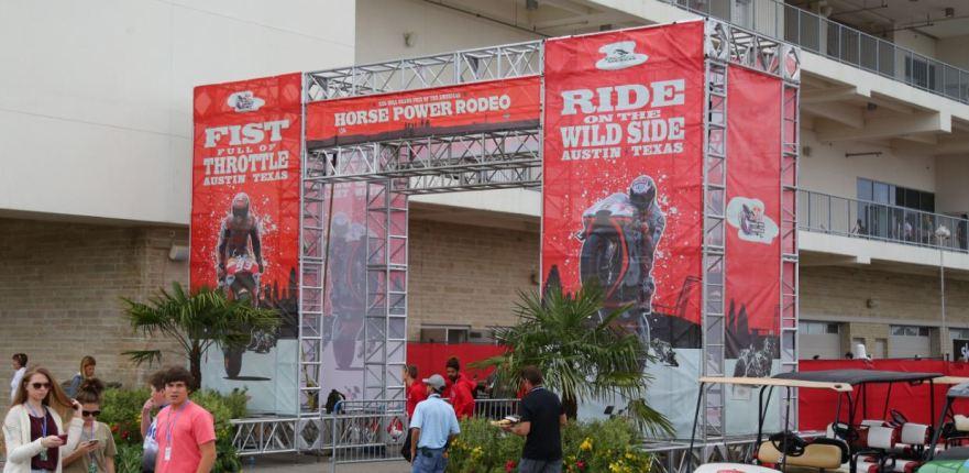 Bike-urious MotoGP Austin - Paddock Entrance