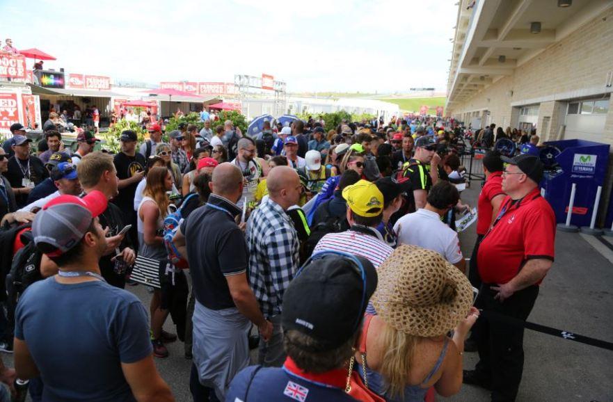 Bike-urious MotoGP Austin - Rossi Crowd