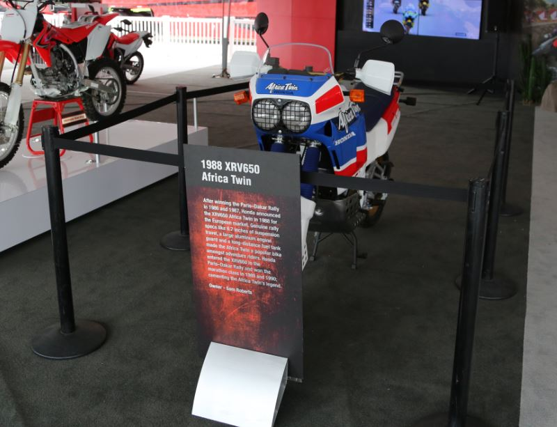 Bike-urious MotoGP Austin - Sam Roberts Ujeni Motors Africa Twin