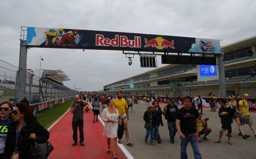 Bike-urious MotoGP Austin - Track Walk