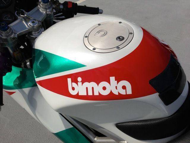 Bimota DB4 - Tank