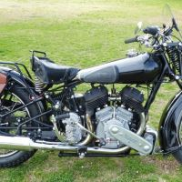 1937 Brough Superior SS80
