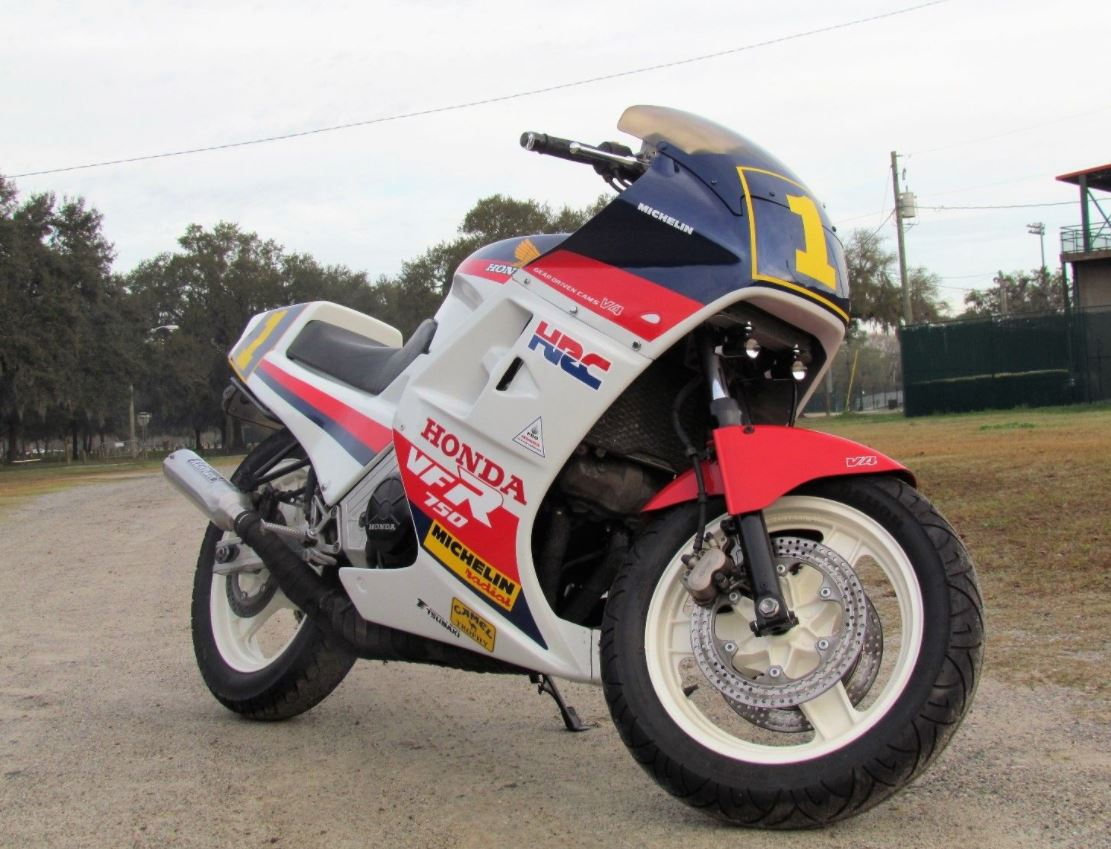 Bubba Shobert Tribute - 1986 Honda VFR750 Interceptor