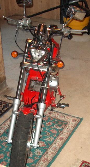 Budweiser Mini Chopper - Front