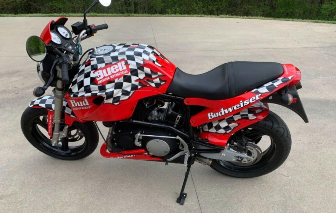 Designed by Budweiser – 2001 Buell Lightning X1