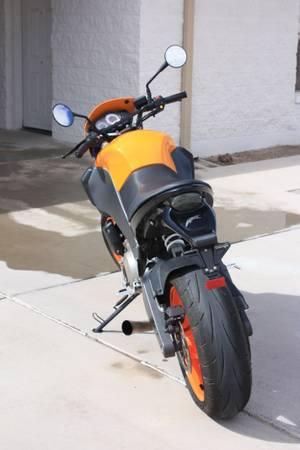 Buell XB12STT Lightning - Orange - Rear
