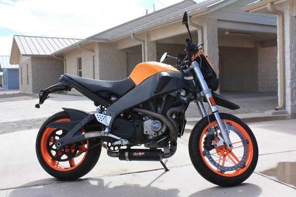 Buell XB12STT Lightning - Orange - Right Side