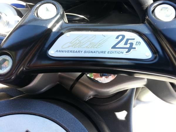 Buell XB12STT Lightning - White - Anniversary