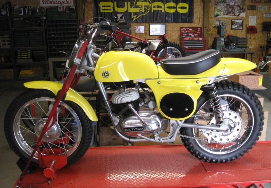 1965 Bultaco Metisse Pursang 250 – Bike-urious